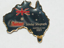 Australia Panthers Rugby Football Pin , Sunday Telegraph Media  Pin (#201)