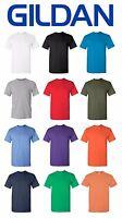 Gildan Heavy Cotton T-Shirt Men's Short Sleeve 5.3 oz Solid Blank 5000 S-3XL Tee