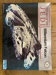 ERTL MPC Return Of The Jedi Millennium Falcon - NOS - Deadstock - RARE