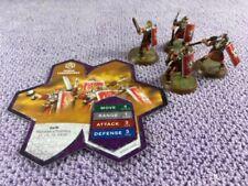 Heroscape Roman Legionnaires - Common Squad - With Card