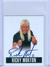 "RICKY MORTON ""AUTOGRAPH CARD #RM1"" LEAF ORIGINALS WRESTLING 2014 NWA AWA"