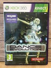 Xbox360 Kinect Dance Evolución Juegos Con Caja Y Manual