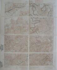 Original 1932 USGS Topo Map BURNSIDE Kentucky Cumberland River Sloans Valley