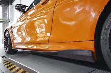 Carbon Schweller V2 Seitenschweller Side Skirts Flaps past für BMW M3 F80 M4 F82