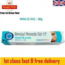 Benzoyl Peroxide Gel 2.5% Persol AC for Acne Vulgaris Spots Blackhead Pimple 30g