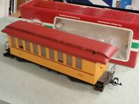 LGB 30805 EXPRESS COACH 320 PASSENGER CAR THE BIG TRAIN G SCALE HOLIDAY SALE