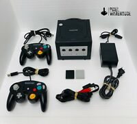 Nintendo GameCube Console Bundle Memory Controller Clean & Tested FREE SHIPPING