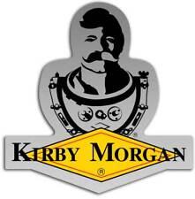 Kirby Morgan Bev KM Diamond Logo Die Cut Sticker