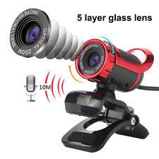 HD 50M Megapixel Webcam Camera Web Cam for Desktop Skype Computer PC Laptop MSN
