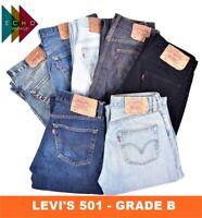 VINTAGE LEVIS LEVI 501 GRADE B JEANS MENS DENIM W30 W32 W34 W36 W38 W40 LEVI'S