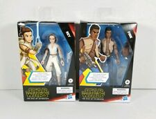 Star Wars Galaxy of Adventures Lot Of (2) 5-Inch Action Figures Rey And Finn MIB