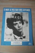 CAROLE KING ORIGINAL - IT MIGHT AS WELL RAIN UNTIL SEPTEMBER -1962