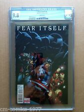 CGC 9.8 - FEAR ITSELF #6,  MAIL AWAY VARIANT COVER  - RARE