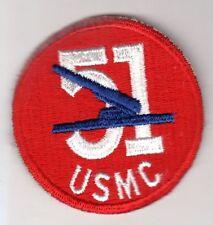 United States WW2 Marine Corps 51st Defense Battn Patch