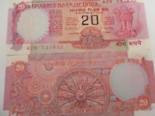 INDIA PAPER MONEY- OLD NOTE-RS. 20/- MANMOHAN SINGH-EX-PRIME MINISTER -RARE- E-9
