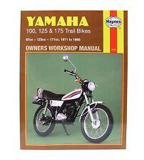 Haynes Manual Yamaha 100, 125 & 175 Trail Bikes (1971 - 1985) HM0210