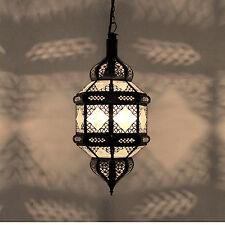 Oriental Linterna marroquí Lámpara Árabes Lámpara Colgante TITIA Vaso de leche