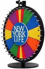 "24"" Spin to Win Dry Erase Prize Wheel Bonus Sections with Custom Logo-Bonus Buy!"