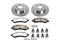 Power Stop K2163-36 Truck and Tow Z36 Brake Upgrade Kit