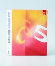 Adobe Creative Suite CS5 Design Standard Mac deutsch Vollversion Box Orginal-DVD