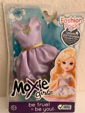 Moxie Bratz Girlz Girl Doll Fashion Pack Lilac & Gold Dress New
