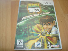 BEN 10 PROTECTOR OF EARTH ** NEW & SEALED ** Nintendo Wii Game