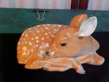 Adorable Lomonosov USSR Made Deer/Fawn Figurine-LFZ=Free Shipping