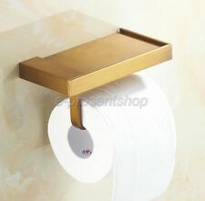 Antique Brass Toilet Roll Paper Holder Wall Mounted Toilet Tissue Bar Bba170