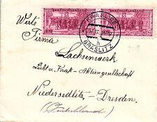 Graslitz, Brief aus Konstadt Post Graslitz nach Niedersedlitz, 1934