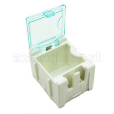 10 x White Mini Composable Electronic Component Parts Storage Case Box SMT SMD
