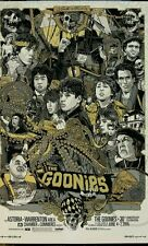 Goonies Gold Variant by Tyler Stout Mondo Poster Print