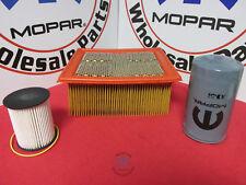 Dodge Ram 2500 3500 Maintenance kit Air, Fuel, And Oil filters NEW OEM MOPAR