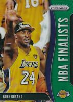 2019-20 Panini Prizm Kobe Bryant NBA Finalist Green Prizm Lakers #9