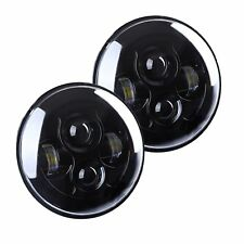 7inch Round LED HALO Headlight Projector Headlamp For Kenworth T2000 T609 JK TJ