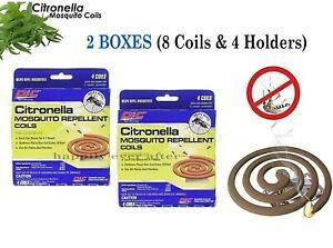 PIC Mosquito Repellent Coils- 2 Box! Citronella Outdoor use Mosquito Coils