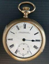 Filled Pocket Watch Antique J.R.I. Lafrenieres Gold