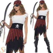 Disfraces de mujer piratas de poliéster