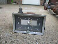 1957 CHEVROLET BELAIR 210 DASH CLOCK ORIGINAL GM 57 UNKNOWN WORKING ORDER NOMAD