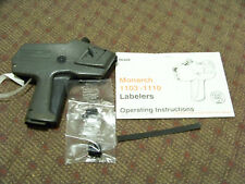 Monarch Marking 1110 Price Pricing Labeler Gun W/ 2 New Replacement Ink & Manual