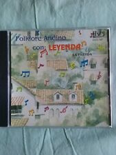 """FOLKLORE ANDINO CON  """"LEYENDA """"MUSICA DE LOS ANDES AUDIO CD"""
