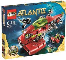 Lego Atlantis-Neptuno submarino, nuevo, en su embalaje original, 8075