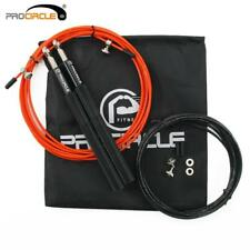 PROCIRCLE Crossfit Jump Rope Ultra-speed Ball Bearing Skipping Rope Gym Fitness