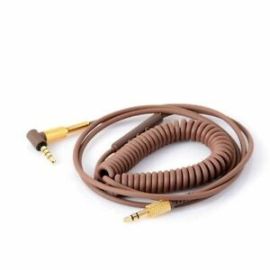 Headphones Cable Plastic Replacement Audio Cord Microphone Volume Control Wire