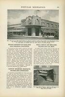 1923 Magazine Article New Retail Market Built in Oakland California CA Building