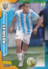 356 ROSALES VENEZUELA MALAGA CF FC.TWENTE CARD MGK LIGA 2017 PANINI