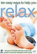 Ten Easy Ways To Help You Relax [DVD] BRAND NEW SEALED