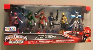 "Power Rangers Super Megaforce Action Pack 5"" TRU Toys R Us Exclusive 96906"