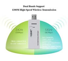 1200Mbps Mini 2.4/5Ghz Dual Band WiFi Dongle Wireless Network Adapter USB3.0