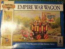 Juegos taller Warhammer Fantasy el Imperio la guerra carro WFB aos fuera de imprenta bien pintados