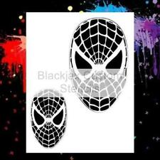 Spidey Face Set  Airbrush Stencil,Template